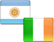 Flags - Ireland & Argentina